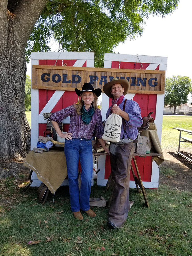 Gold Rush School Assembly