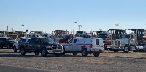 Dixie fire staging area